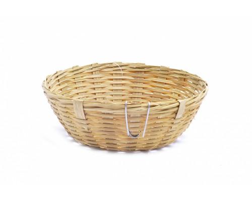 Бамбуковое гнездо с крючками ø19 см (Dove nest bamboo with hooks 19 cm)