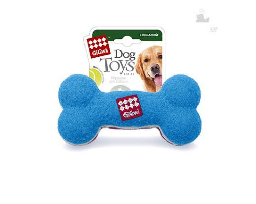 GiGwi Игрушка для собак Кость с пищалкой Большая