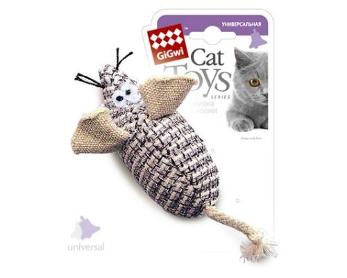 GiGwi Игрушка для кошек Мышка с погремушкой
