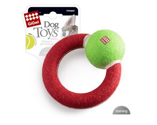 GiGwi Игрушка для собак Круг с наполнителем