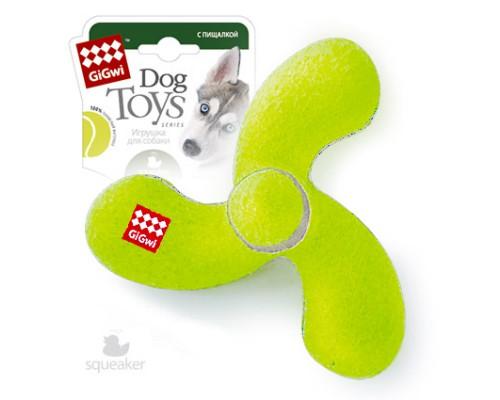GiGwi Игрушка для собак Джек с пищалкой Средний
