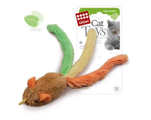 GiGwi Мышка с кошачьей мятой и погремушкой