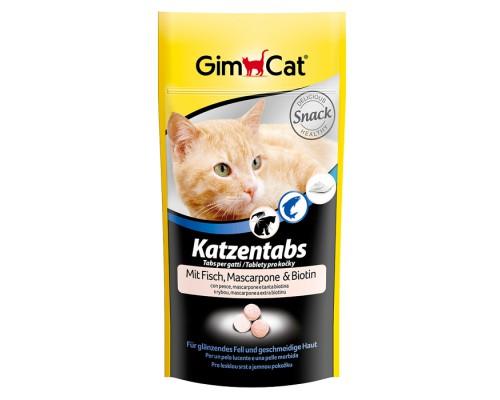 """Gimcat Лакомство витаминизированное """"Сырные ролики"""" Рыба и Маскарпоне для кошек (Джимпет)"""