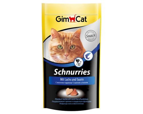 """Gimcat Лакомство витаминизированное """"Сердечки"""" с лососем для кошек (Джимпет)"""