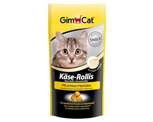 """Gimcat Лакомство витаминизированное """"Сырные ролики"""" для кошек (Джимпет)"""