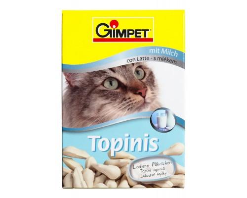 """Gimcat Лакомство витаминизированное """"Мышки"""" с молоком для кошек, 190шт (Джимпет)"""