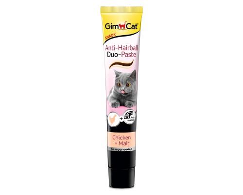 """Gimcat Паста """"Дуо"""" Курица+Солод для выведения шерсти для кошек (Джимпет)"""