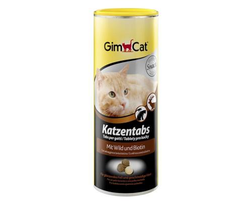 Gimcat Витамины для кошек Katzentabs с Дичью 710шт (Джимпет)