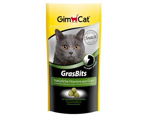 """Gimcat Лакомство витаминизированное """"Грасбитс"""" с травой для кошек (Джимпет)"""