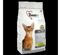 1ST CHOICE Для кошек без зерна на утке с картофелем, гипоаллергенный (Фест Чойс Hypoallergenic). Вес: 350 г