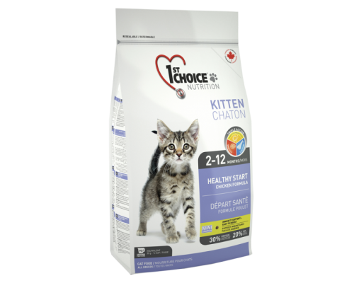 1ST CHOICE Для котят, здоровый старт на цыпленке (Фест Чойс Kitten). Вес: 350 г
