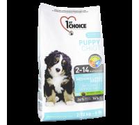1ST CHOICE Для щенков средних и крупных пород (Фест Чойс Puppy Medium&Large Breeds). Вес: 350 г
