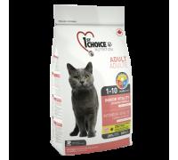 1ST CHOICE Для домашних кошек, цыпленок (Фест Чойс Vitality). Вес: 350 г
