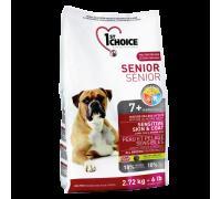 1ST CHOICE Для пожилых собак Ягненок/Рыба/Рис (Фест Чойс Senior Sensitive Skin&Coat)