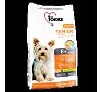 1ST CHOICE Для пожилых собак Миниатюрных и Мелких пород Курица (Фест Чойс Toy&Small Breeds). Вес: 2,72 кг