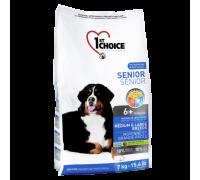 1ST CHOICE Для пожилых собак Средних и Крупных пород Курица (Фест Чойс Senior Toy&Small Breeds). Вес: 7 кг