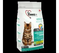 """1ST CHOICE Для кастрированных и стерилизованных кошек """"Контроль веса"""" (Фест Чойс Weight control). Вес: 350 г"""