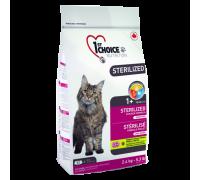 1ST CHOICE Беззерновой для кастрированных и стерилизованных кошек (Фест Чойс Sterilized)