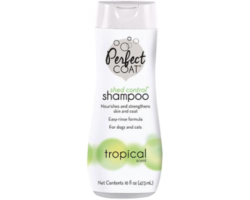 8in1 Shampoo Shed Control Tropical Mist шампунь против линьки для собак : 473 мл