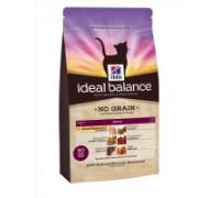 Hill's Ideal Balance Feline Adult NO GRAIN with Fresh Chicken and Potato сухой корм для кошек беззерновой курица/картофель