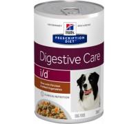 Hills Presсription Diet Canine i/d консервы для собак I/D профилактика заболеваний ЖКТ Курица Рагу (Хиллс). Вес: 354 г