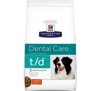 Hills Presсription Diet Canine t/d сухой корм для собак T/D профилактика заболеваний полости рта (Хиллс). Вес: 3 кг