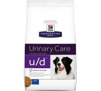 Hills Presсription Diet Canine u/d сухой корм для собак U/D профилактика МКБ и почек (Хиллс). Вес: 5 кг