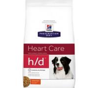 Hills Presсription Diet h/d Canine сухой корм для собак H/D профилактика ранних стадий сердечных заболеваний (Хиллс). Вес: 5 кг