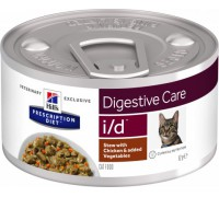 Hill's Presсription Diet i/d Feline консервы для кошек I/D профилактика заболеваний ЖКТ Курица Рагу