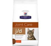 Hills Presсription Diet j/d Feline Original сухой корм для кошек J/D профилактика заболеваний суставов (Хиллс). Вес: 2 кг