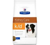 Hills Presсription Diet k/d Canine Original сухой корм для собак K/D профилактика заболеваний почек (Хиллс). Вес: 2 кг