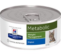 Hills Presсription Diet Metabolic Feline консервы для кошек Metabolic для коррекции веса (Хиллс). Вес: 156 г