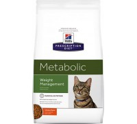 Hills Presсription Diet Metabolic Feline сухой корм для кошек Metabolic для коррекции веса (Хиллс). Вес: 250 г