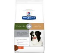 Hills Presсription Diet Metabolic + Mobility Canine сухой корм для собак для снижения избыточного веса и поддержания метаболизма в суставах (Хиллс). Вес: 12 кг