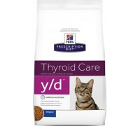 Hill's Presсription Diet y/d Feline сухой для кошек Y/D профилактика гипертиреоза
