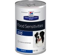 Hills Presсription Diet z/d Canine ULTRA Allergen-Free консервы для собак профилактика и диагностика пищевых аллергий (Хиллс). Вес: 370 г