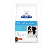 Hills Presсription Diet Derm Defense Canine с Курицей (17%) - полноценный диетический рац�