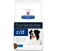 Hill's Presсription Diet Canine z/d сухой корм для собак лечение и диагностика пищевых аллергий