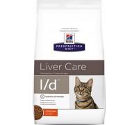 Hills Presсription Diet l/d Liver Care сухой диетический корм для кошек для поддержания здоровья печени Курица (Хиллс). Вес: 1,5 кг