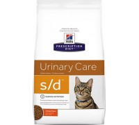 Hills Presсription Diet s/d Feline сухой корм для кошек S/D лечение МКБ (струвиты) (Хиллс). Вес: 1,5 кг