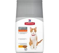 Hill's Science Plan Sterilised Cat сухой корм корм для стерилизованных молодых кошек от 6 месяцев до 6 лет Курица