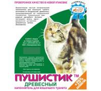 ПУШИСТИК наполнитель ДРЕВЕСНЫЙ 5 л