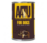 AATU Консервы для собак Мясо Дикого Кабана и Свинина (WILD BOAR & PORK). Вес: 400 г