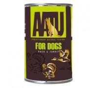 AATU Консервы для собак Утка и Индейка (DUCK & TURKEY). Вес: 400 г