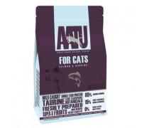 AATU Корм для кошек Лосось и Сельдь 85/15 (CAT SALMON & HERRING). Вес: 200 г