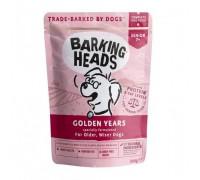 """Barking Heads Пауч для Cобак старше 7 лет """"Золотые годы"""" с цыпленком и лососем (Golden Years). Вес: 300 г"""