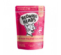 "Barking Heads Пауч для кошек и котят с лососем, курицей и говядиной ""Фиш-гурман"" (So-fish-ticated Salmon). Вес: 100 г"