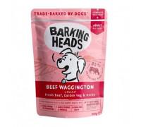 """Barking Heads Пауч для собак с говядиной """"Вуф-строганов"""" (Beef Waggington). Вес: 300 г"""