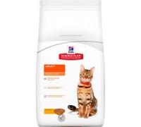 Hills Science Plan Optimal Care сухой корм для кошек от 1 до 6 лет для повседневного питания Курица (Хиллс). Вес: 300 г