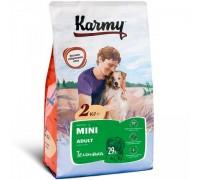 KARMY сухой корм Мини Эдалт для собак мелких пород Телятина. Вес: 2 кг